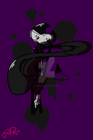 Mr. Ink Bendy -Gift- by SynphonyInc