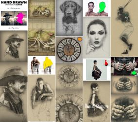 Hand Drawn Photoshop Action by GraphicAssets