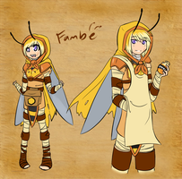 PP: Secondary- Fambe by Blazin-Hearted