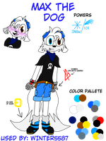 Max the Dog Ref by Winter5587