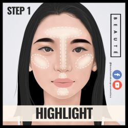 How to contour in 60 secs Step 1 by 3demman