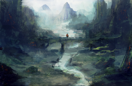 Forgotten paradise by Caepos