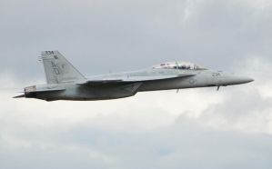 F-18F Super Hornet by AEisnor