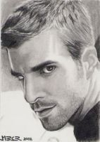 Heroes Sylar sketch card by jenchuan