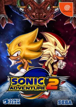 Sonic Adventure 2  Dreamcast15th anniversary by RoyalFiend