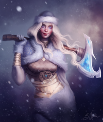 Warrior by SandraWinther