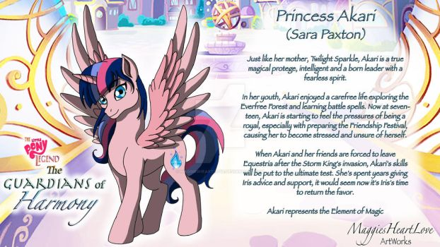 The Little Pony Legend Movie, Akari Profile by MaggiesHeartLove