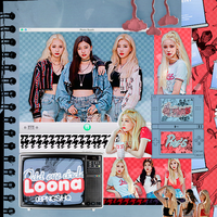 414 LOONA ODD EYE CIRCLE Png pack #01  by happinesspngs