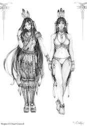 Fash10N sketches: Weptes by Chael