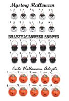 Halloween Adopts-Check set 1- CLOSED by 102vvv