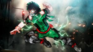 (DEKU) Izuku Midoriya Boku No Hero Academia by BlueWolfArtista