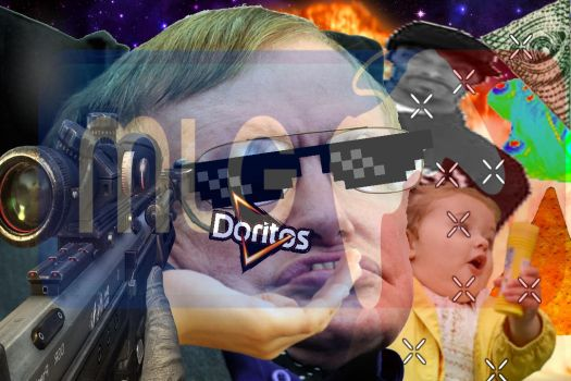 MLG Steven Hawking by overthegiantree