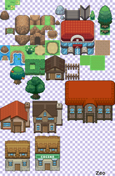 Tileset Pokemon Resurgent by Zeo254