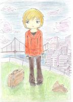no place for me in this city by Kanashii-Hito