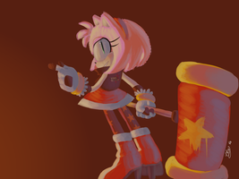 Amy Rose Forces Outfit by Mangaanonymous