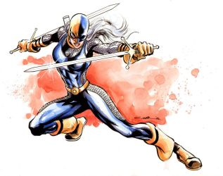 Ravager title by Cinar
