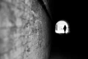 the beginning of the tunnel by pstoev