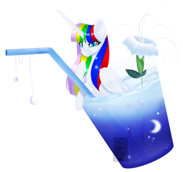 [YCH] Moon Flavor Drink by MinElvi