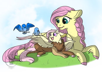 Natural Gift by BlueSideArts