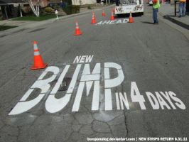 New Bumps Ahead Ad T-4 by BumpOnALog