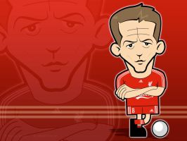 Steven Gerrard Wallpaper by kitster29