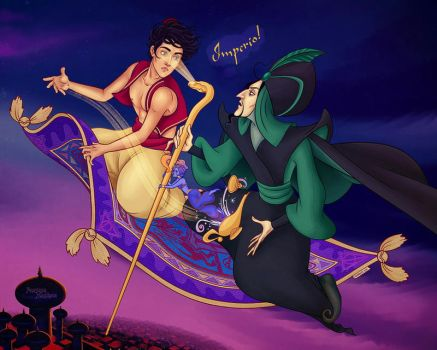 hp_aladdin_crossover by AnastasiaMantihora