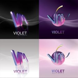 Violet Multimedia Logo by AnubisGraph
