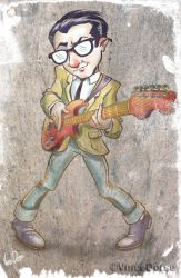 Miracle Man (Elvis Costello) by VinceDorse