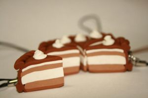 My first Cake charms by mariloufrancisco