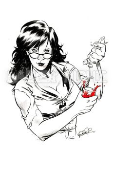 She Hulk - Negroni - Ice from myself by elena-casagrande