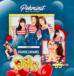 +Pack Png Orange Caramel by Pohminit