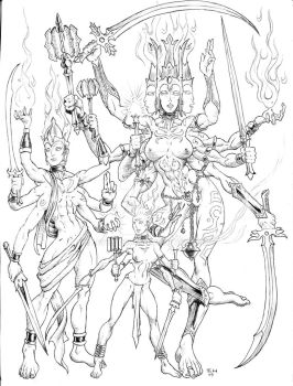 Devas and Devis by Level9Drow