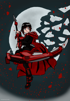 RWBY - Ruby Rose by Juggernaut-Art
