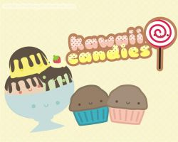Kawaii Candies by natalia-factory