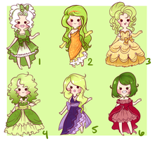 Vegetables Adopts [1 LEFT] by PastelPyon