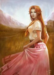 Malon Painting by AlineMendes