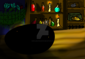 Potion Shop Stone by MetalgearTwilight01