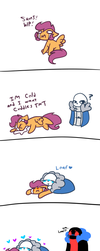 Scooter is cold by synnibear03