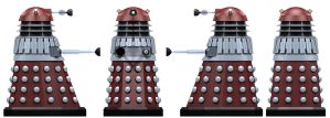 Empire Supreme Controller Dalek by Librarian-bot