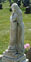 Mount Olivet Cemetery Woman 203 by Falln-Stock