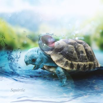 Squirtle by Jaymeanoiche