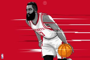 Houston Rockets - James Harden by dicky10official