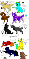 Free Adoptables .:CLOSED:. by GiecoCarInsurance
