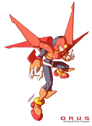Rockman ZX3 : Orus by Tomycase