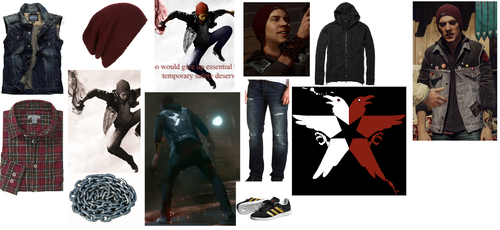 Delsin Rowe Outfit Broken Down by Linkmaster101