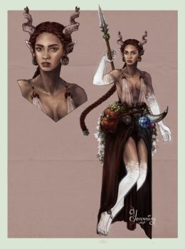 [Closed] Adopt auction ~ Ancient goddess by Yearniing-And-Heroin