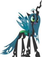 Vector - Queen Chrysalis by SketchMCreations
