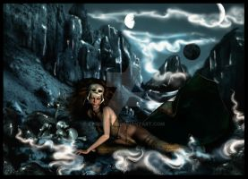 Scull Queen I by christel-b