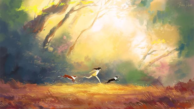 Free by FionaHsieh