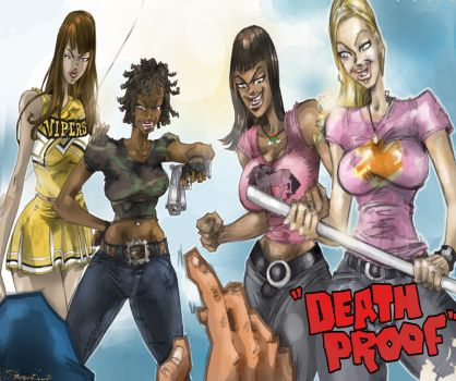 DEATH PROOF girls by jasinmartin